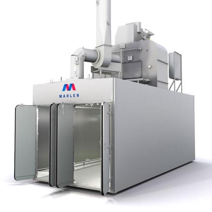 Rendering_Marlen Food Processing Oven / Indsutrial Smokehouse